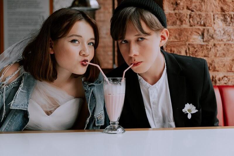 types of beverage - milkshake