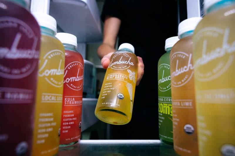 Botanic drinks are extracted from plant parts