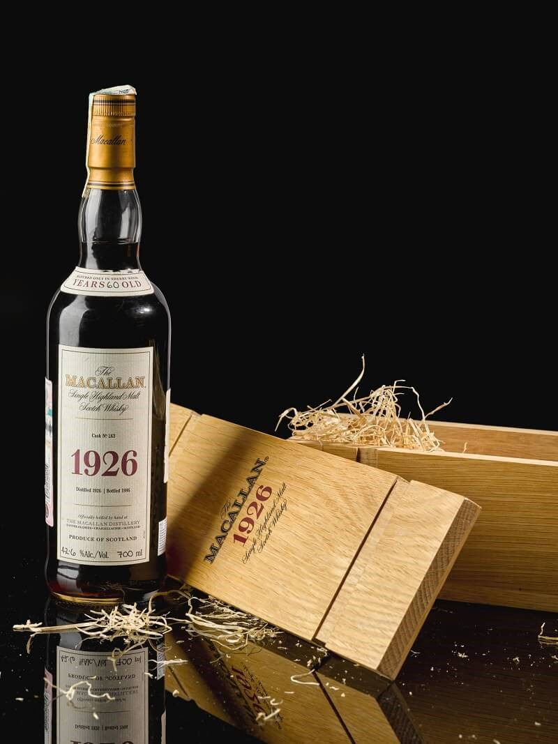 The Macallan 1926 is a rarest drink in the world